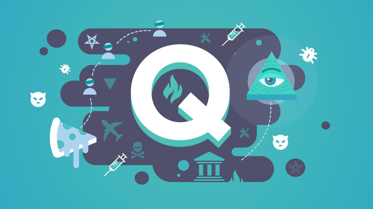 QAnon Blog-Conspiracies Show Organic Growth